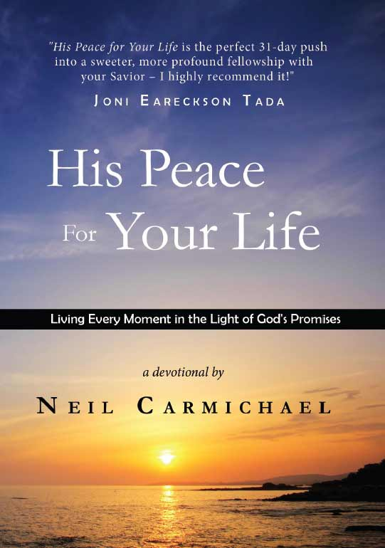 His Peace For Your Life Book Cover